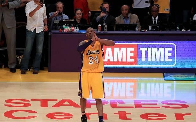 Kobe Bryant beendete 2016 seine NBA-Karriere