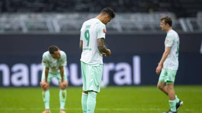 Werder Bremen kassierte die fünfte Ligapleite in Folge