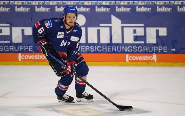 Joonas Lehtivuori und die Adler Mannheim feierten in der DEL zuletzt neun Siege in Folge