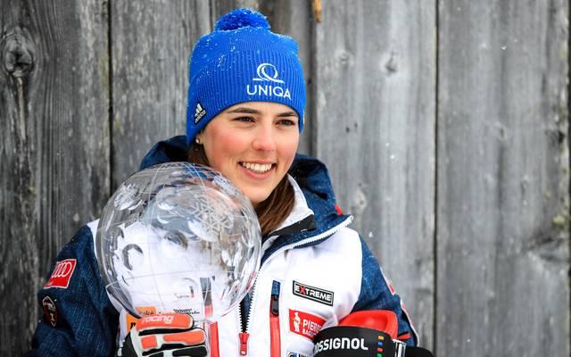 Petra Vhlova konnte in der zurückliegenden Saison den Gesamtweltcup gewinnen