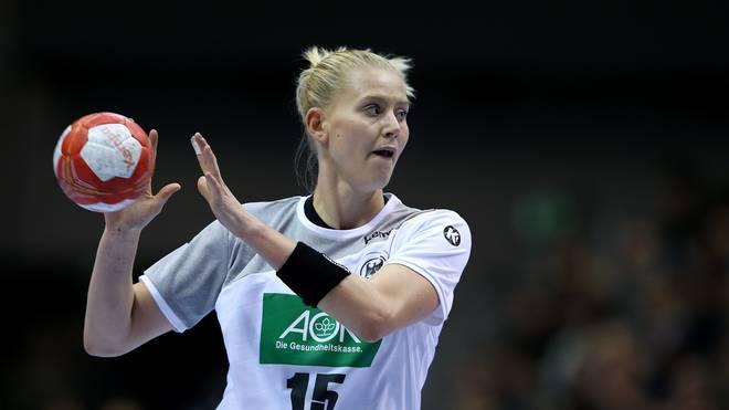 Kim Naidzinavicius spielt in der Handball-Bundesliga beim SG BBM Bietigheim