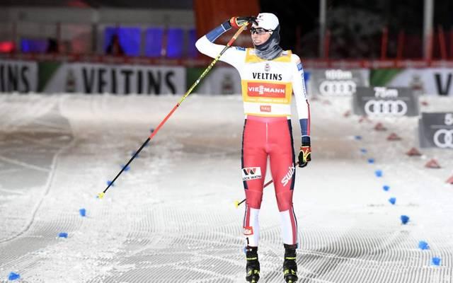 Jarl Magnus Riiber hat den Rekord von Ronny Ackermann gebrochen