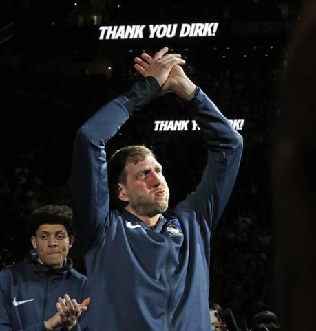 Mit Dirk Nowitzki beendete einer der größten deutschen Sportler aller Zeiten seine Karriere. 21 Jahre lang war der Würzburger im Trikot des NBA-Klubs Dallas Mavericks unterwegs und wurde zum umjubelten deutschen Exportschlager