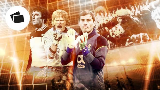 Zoff, Kahn, Casillas, Jaschin: Sie alle zählen zu den legendärsten Torhütern der Fußball-Geschichte