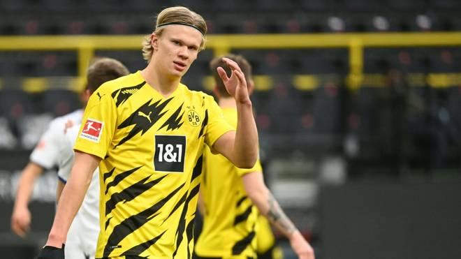 Hansi Flick könnte sich Erling Haaland auch bei Bayern vorstellen