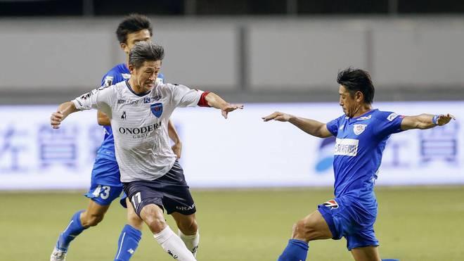 Kazuyoshi Miura schreibt Fußball-Geschichte