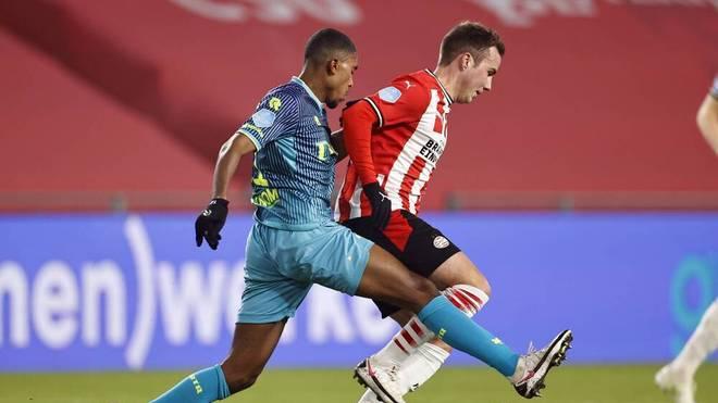 Mario Götze stand bei PSV in der Startelf