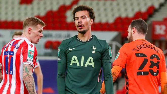 Dele Alli spielt bei Tottenham keine Rolle in dieser Saison