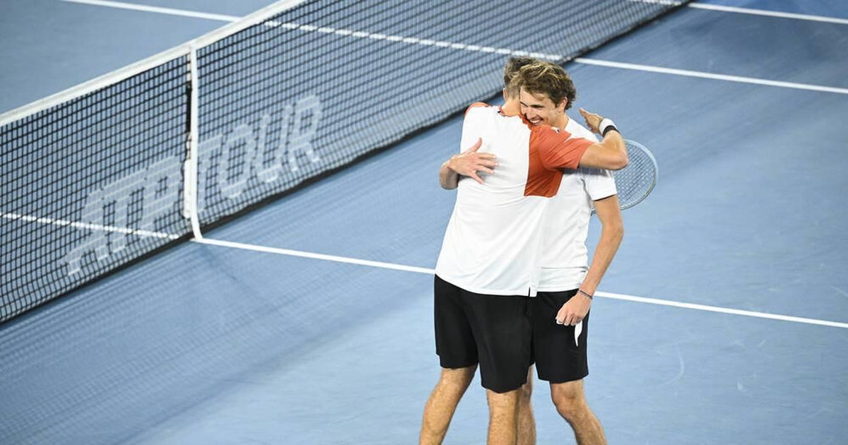 ATP Cup: Deutsche Herren um Zverev schlagen Serbien mit Djokovic - SPORT1