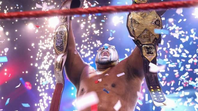 Keith Lee krönte sich bei WWE NXT zum Doppel-Champion