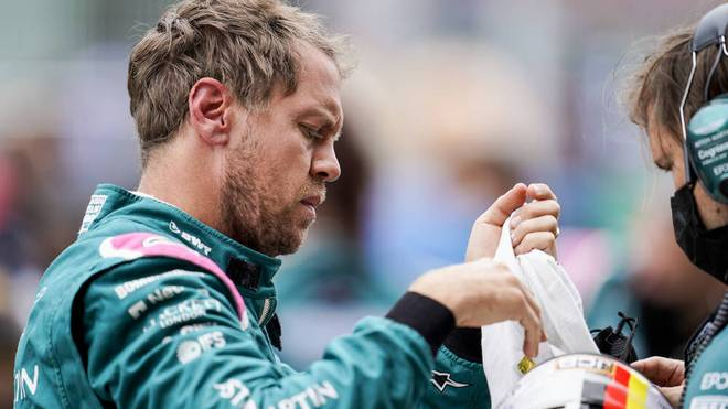 Für Sebastian Vettel läuft es bei Aston Martin noch nicht rund