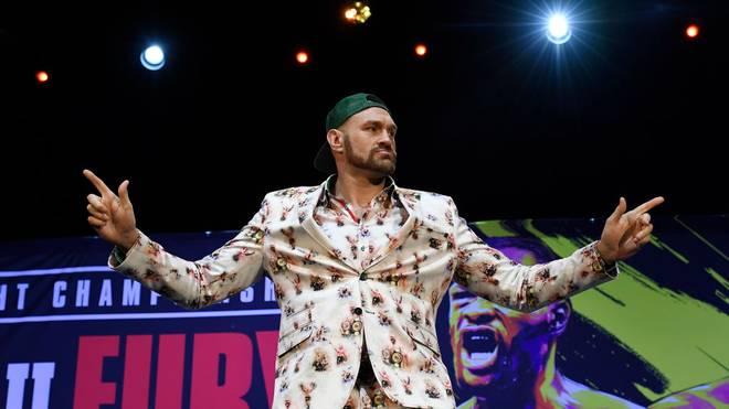 Tyson Fury ist in seiner Profikarriere noch ungeschlagen
