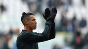 TURIN, ITALY - JANUARY 06: Cristiano Ronaldo of Juventus during the Serie A match between Juventus and Cagliari Calcio at Allianz Stadium on January 6, 2020 in Turin, Italy. (Photo by Chris Ricco/Getty Images)
