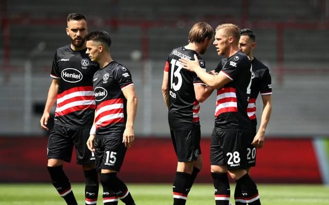 Fortuna Düsseldorf gelingt nur der Ausgleich