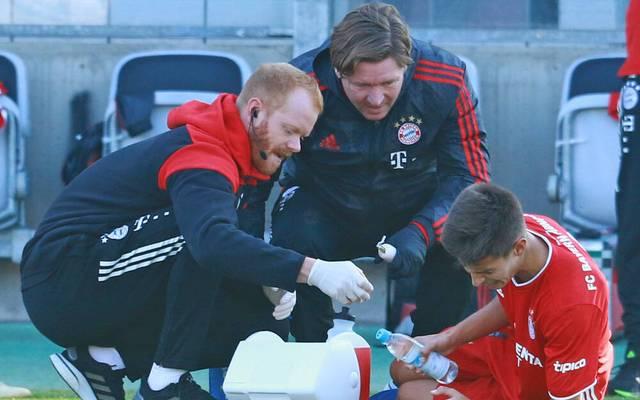 Tiago Dantas verletzte sich gegen Waldhof Mannheim