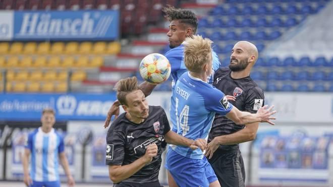 Der SV Meppen muss sich Ingolstadt geschlagen geben