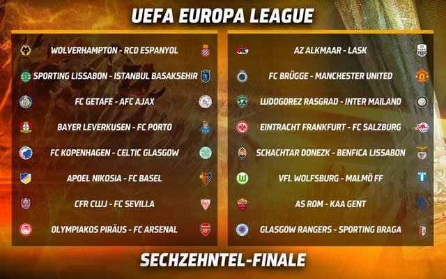 Eintracht Frankfurt und Bayer Leverkusen haben in der Europa League schwere Aufgaben vor der Brust