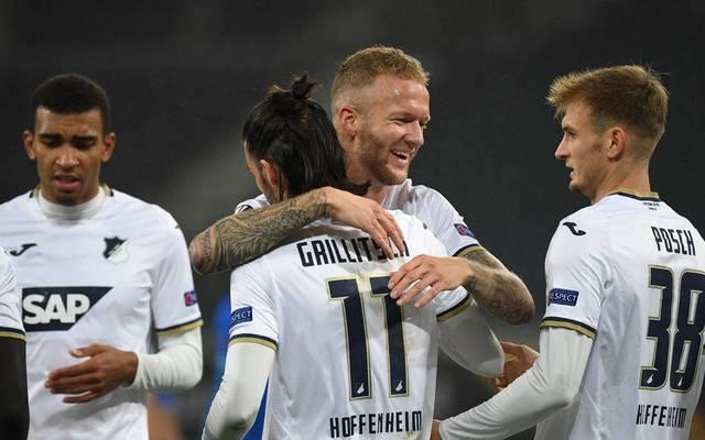 Hoffenheim gewinnt in der Europa League gegen KAA Gent