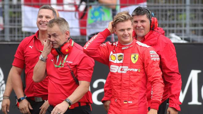 Mick Schumacher gehört dem Ferrari-Nachwuchskader an