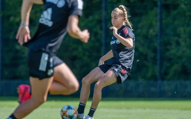 Giulia Gwinn spielt seit 2019 beim FC Bayern