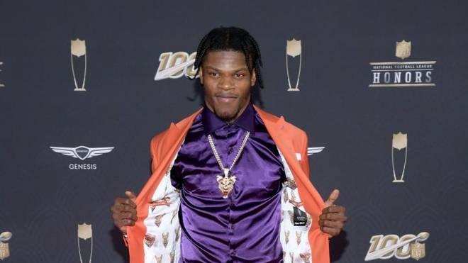 Lamar Jackson wurde zum MVP der Saison 2019 gewählt