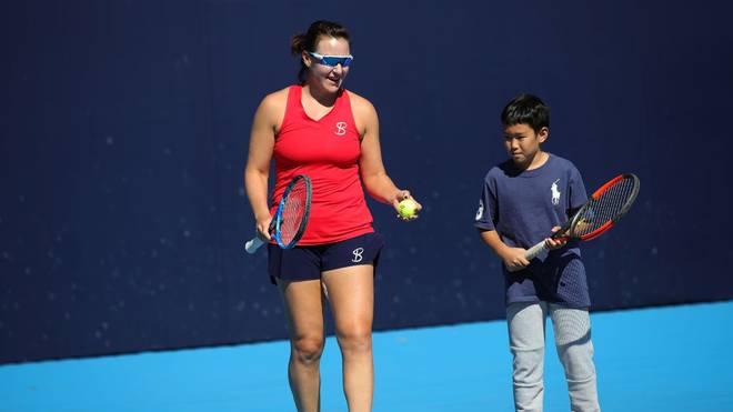 Abigail Spears gewann 2017 die Australian Open im Mixed