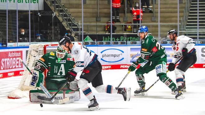 Die Nürnberg Ice Tigers gewannen das erste Saisonduell mit den Augsburger Panther