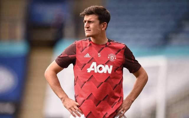 Harry Maguire wechselte 2019 von Leicester City zu Manchester United