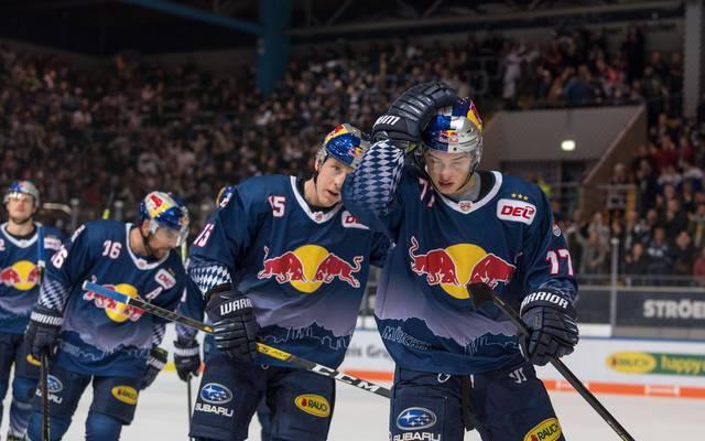 Der EHC Red Bull München muss eine Niederlage einstecken
