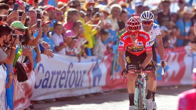 Primoz Roglic bleibt bei der Vuelta an der Spitze