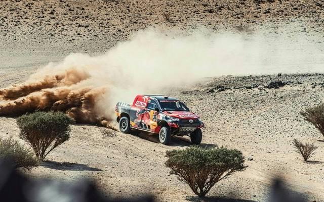 Dakar: x-Raid-Pilot Peterhansel baut Vorsprung wieder aus Tim Gottschalk und Jakub Przygonski kämpfen sich vor