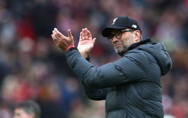 Jürgen Klopp hat mit dem FC Liverpool 25 Punkte Vorsprung