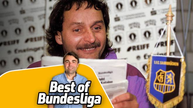 SPORT1-Kolumnist Ben Redelings (v.) erinnert an Peter Neururers Bundesliga-Jahr mit dem 1.FC Saarbrücken