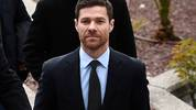 Spain's retired midfielder Xabi Alonso arrives to attend a court hearing for tax evasion in Madrid on January 22, 2019. (Photo by PIERRE-PHILIPPE MARCOU / AFP)        (Photo credit should read PIERRE-PHILIPPE MARCOU/AFP/Getty Images)