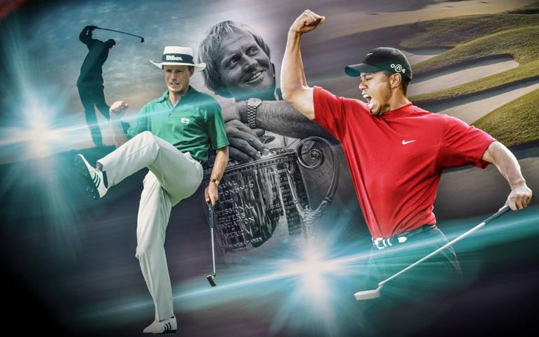 Tiger Woods zählt zu den besten Golfern aller Zeiten, aber auch zahlreiche andere Golf-Legenden müssen dazugezählt werden. SPORT1 zeigt die 20 größten Golfer aller Zeiten