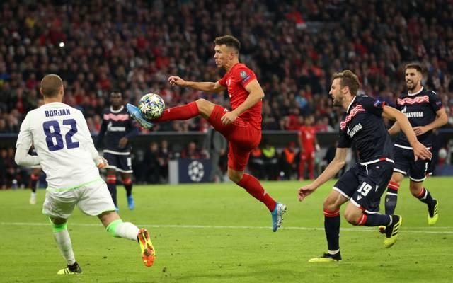 Ivan Perisic zeigte gegen Belgrad eine gute Leistung