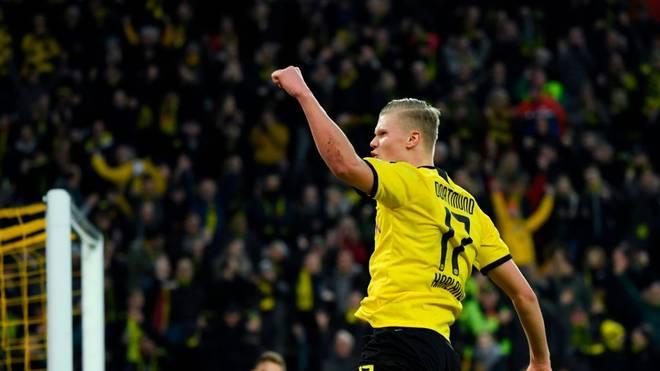 Erling Haaland erzielte in drei Spielen für den BVB sieben Tore