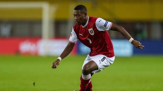 David Alaba spielt mit Österreich bei der nächsten Nations League in der Liga A
