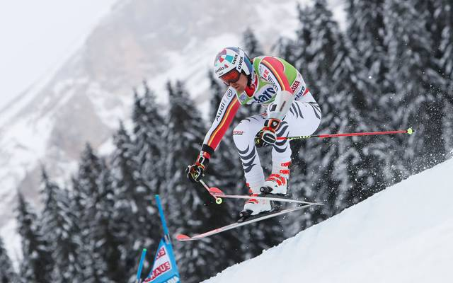 ALTA BADIA, ITALY - DECEMBER 23: Stefan Luitz of Germany competes during the Audi FIS Alpine Ski World Cup Men's Parallel Giant Slalom on December 23, 2019 in Alta Badia Italy. (Photo by Alexis Boichard/Agence Zoom/Getty Images)