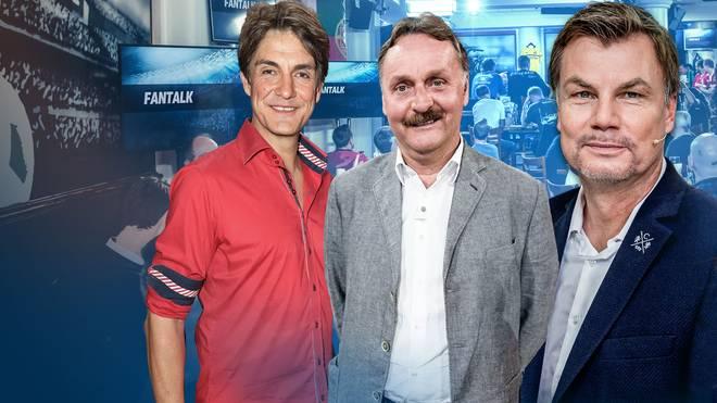 Matze Knop und Peter Neururer sind zu Gast bei Thomas Helmer im Fantalk