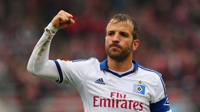 Rafael van der Vaart fand sein Glück in Hamburg. Nun schenkt ihm der HSV ein Abschiedsspiel