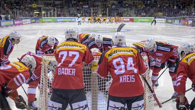 Das Schweizer Eishockey-Nationalteam ist regelmäßig Gast beim Deutschland Cup