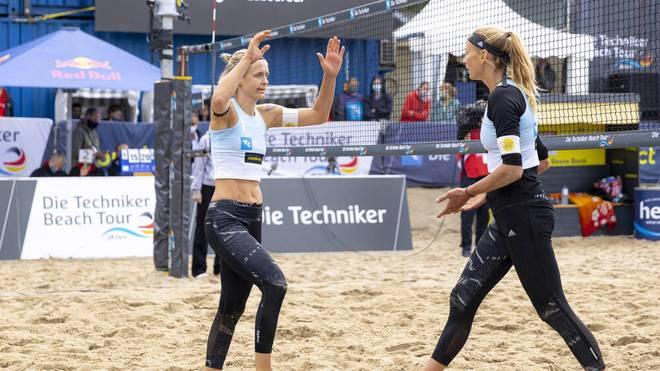 EM-Auftaktsieg für Beach-Duo Ludwig/Kozuch