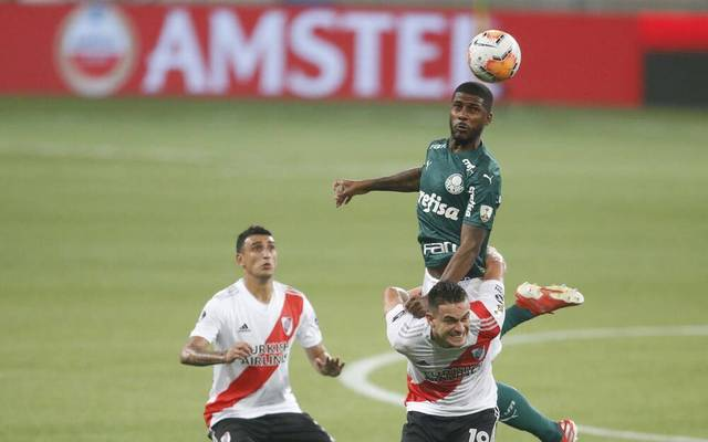 Sao Paulo, Brazil, 12 Dec 2020 Sao Paulo - SP, 12 01 2021 - Copa Libertadores semi final between Palmeiras and River Plate at the Allianz Parque Stadium in Sao Paulo, Brazil. This is the return tie, the first leg finished with Palmeiras winning 3-0 in Buenos Aires.. Foto: Fernando Roberto Sports Press Photo Fernando Roberto SPP Copa Libertadores: Palmeiras x River Plate PUBLICATIONxNOTxINxBRA