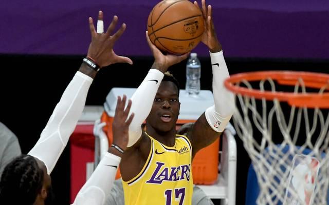 Dennis Schröder konnte mit den Lakers einen Sieg feiern