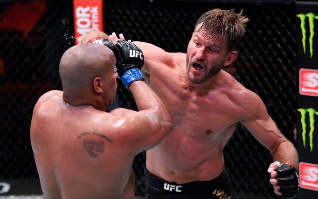 UFC 252: Stipe Miocic (r.) lässt es gegen Daniel Cormier krachen