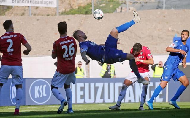 Hannover und Karlsruhe trennten sich in der letzten Saison zweimal unentschieden