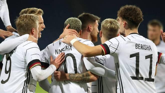 Die deutsche U21 gewinnt gegen Wales