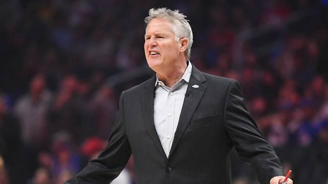 Head Coach Brett Brown wurde von den Philadelphia 76ers entlassen