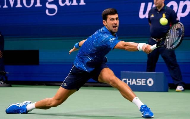 Novak Djokovic musste zuletzt bei den US Open verletzt aufgeben